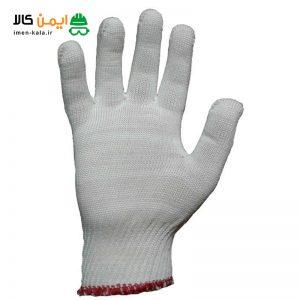 دستکش ایمنی بافتنی(نخی) مدل ویسکوز