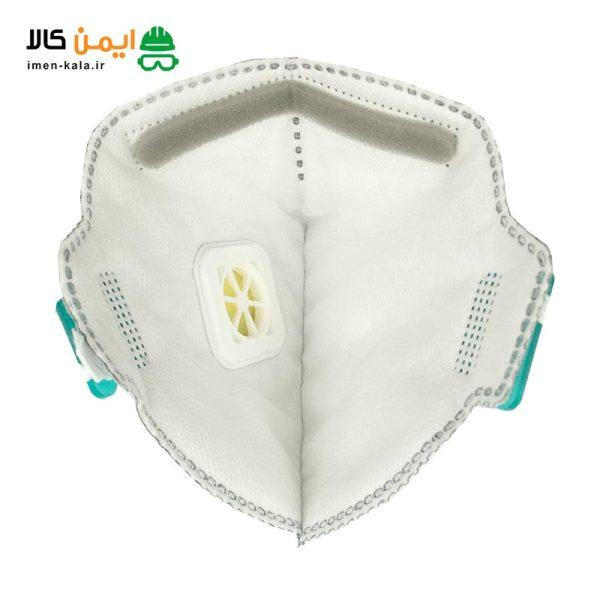 ماسک تنفسی سوپاپ دار spc مدل FFP2
