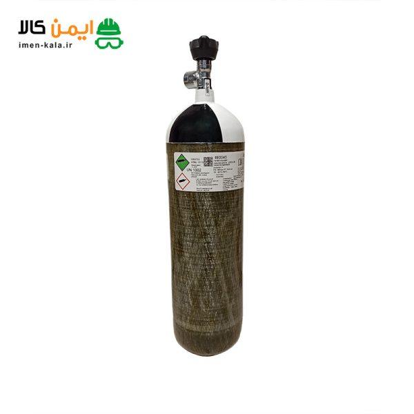 کپسول تنفسی سیلندر هوای فشرده دراگر 300 بار 6.8 لیتری