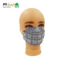 ماسک سه بعدی مدل KF94 با فیلتر ملت بلون | بسته بندی 25 عددی