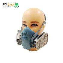 ماسک نیم صورت تری ام (3M) مدل 7502 غیراصل |همراه فیلتر 6001
