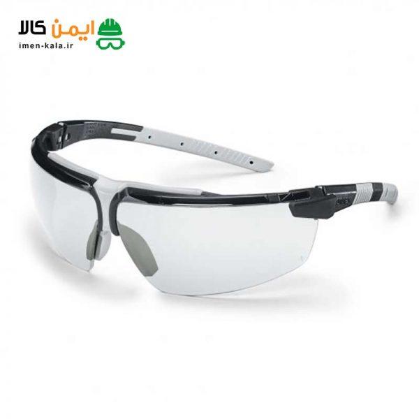 عینک ایمنی یووکس i-3 مدل 9190280
